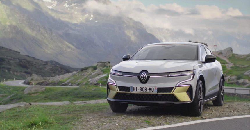 Renault leader nell'elettrico con la nuova Megane E-Tech