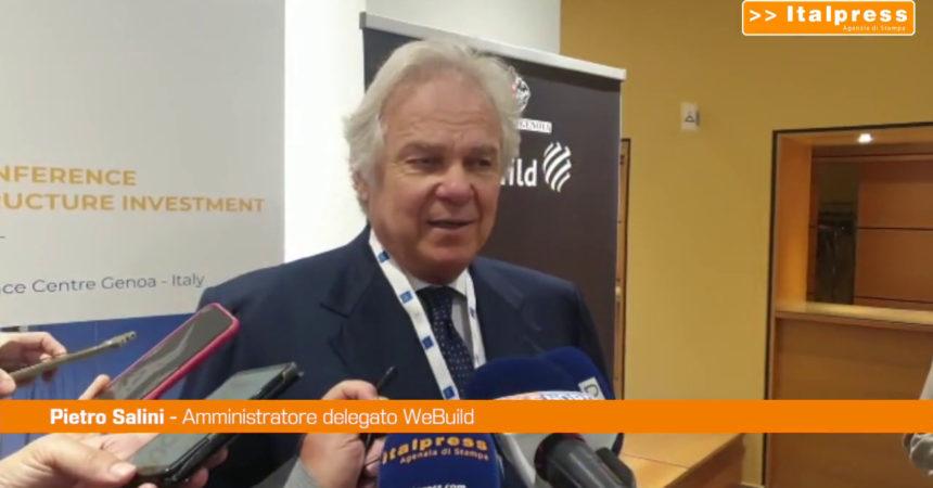 Infrastrutture: Salini, ripartire da modello Genova
