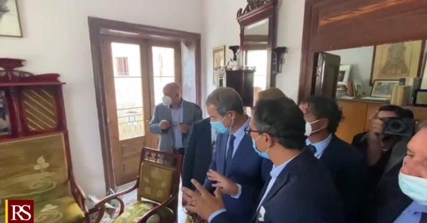 """Musumeci a riapertura CasaSciascia: """"Omaggio al grande scrittore"""""""