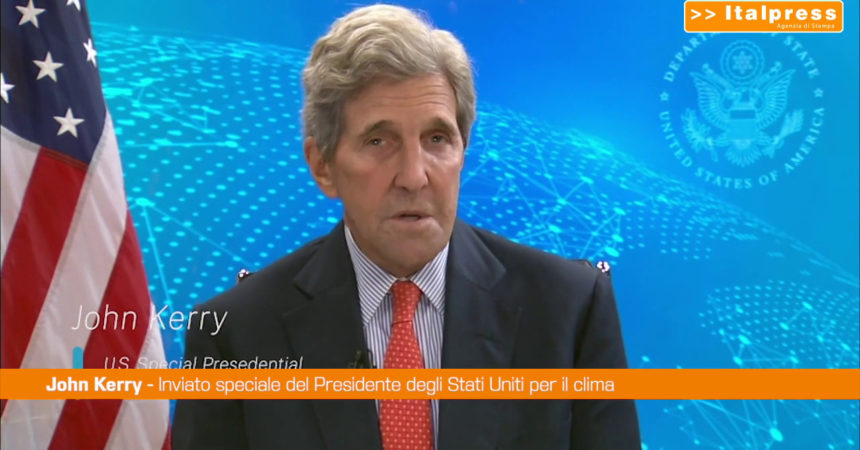 """Clima, John Kerry: """"Serve azione transnazionale"""""""