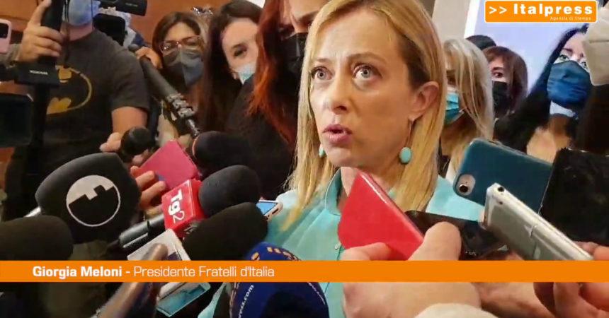 Salvini e Meloni a Milano per sostegno a Bernardo ma non si incontrano