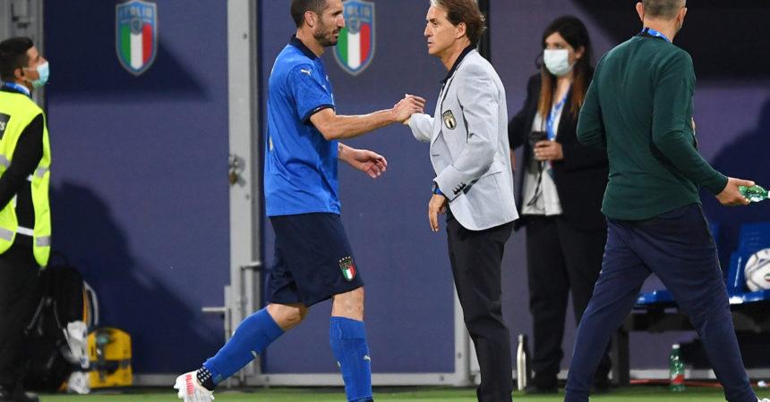 "Mancini ""Nations League e vincere fino ai Mondiali"""