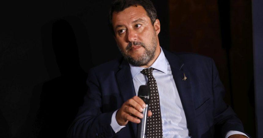 """Salvini """"Morisi massacrato da settimane, diverso da caso Cucchi"""""""