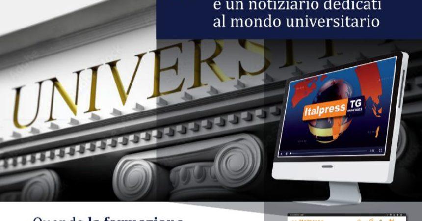 Dall'Agenzia Italpress un nuovo tg dedicato al mondo delle Università