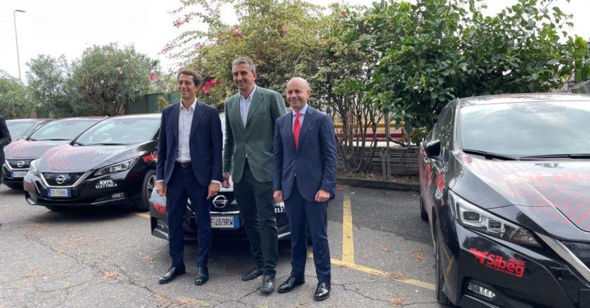 Partnership Sibeg, Nissan e Arval a favore dell'e-mobility in Sicilia