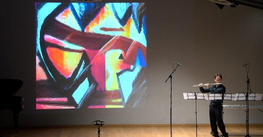 EstOvest Festival, l'intelligenza artificiale dipinge ispirata da musica
