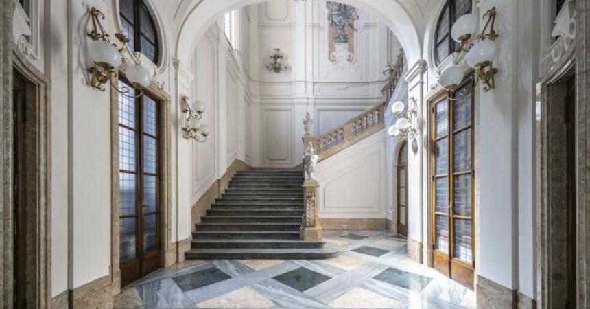 Torino, svelati i segreti di Palazzo Perrone San Martino