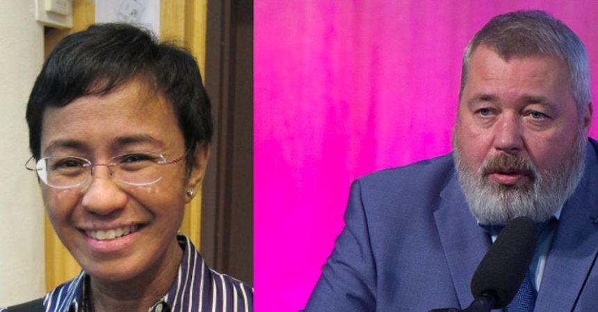 Il Nobel per la pace ai giornalisti Ressa e Muratov