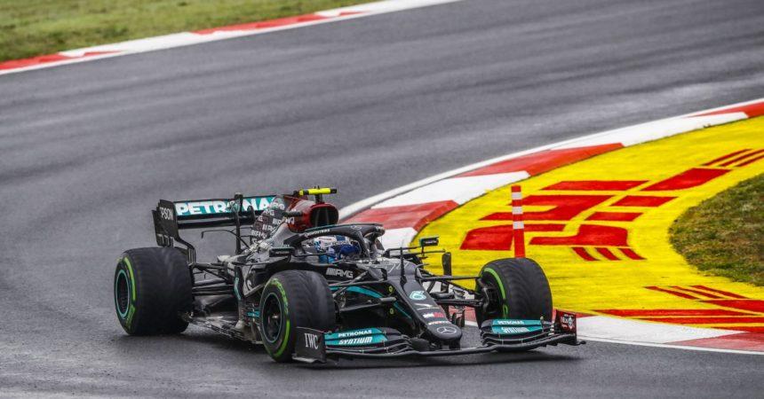 In Turchia vince Bottas davanti a Verstappen e Perez, 4° Leclerc