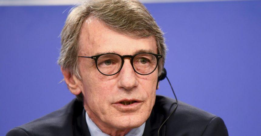"""Sassoli """"Il turismo deve essere al centro della ripresa europea"""""""