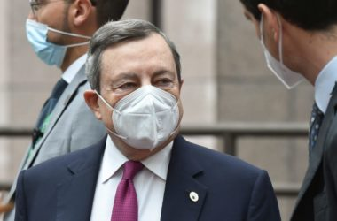 """Draghi """"Sullo scioglimento di Forza Nuova stiamo riflettendo"""""""