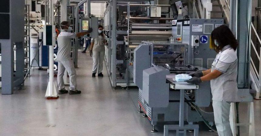 Industria, ad agosto produzione in calo sia area euro che Ue