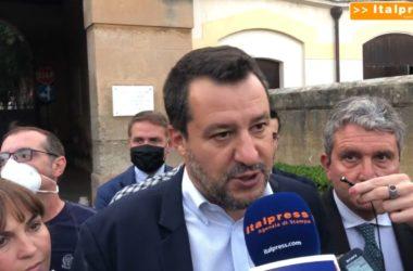 """Emergenza bare a Palermo, Salvini: """"Mai vista una situazione del genere"""""""