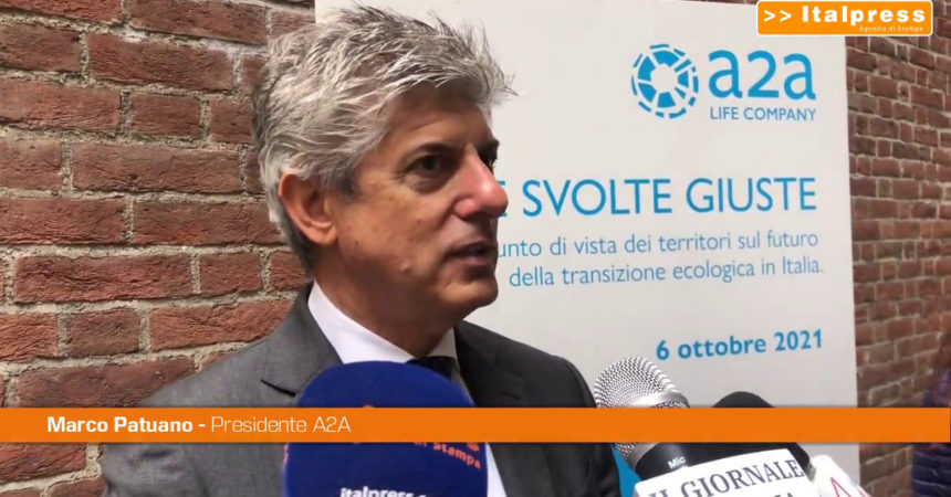 """A2A, Patuano """"16 miliardi per la transizione energetica"""""""