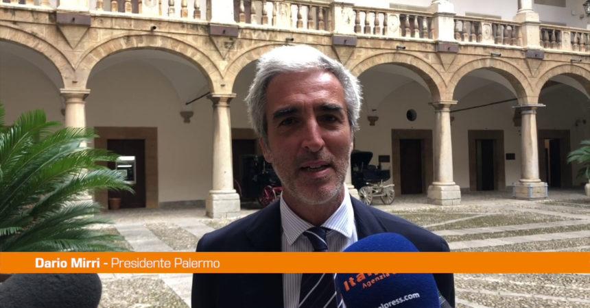 """Mirri: """"Investitori guardano Palermo con interesse"""""""