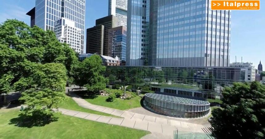 """Dalla BCE lo """"stress test"""" climatico per banche e aziende"""