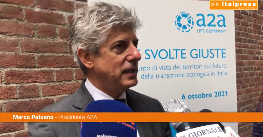 """A2A, Patuano """"Investiamo 16 milioni nella transizione energetica"""""""