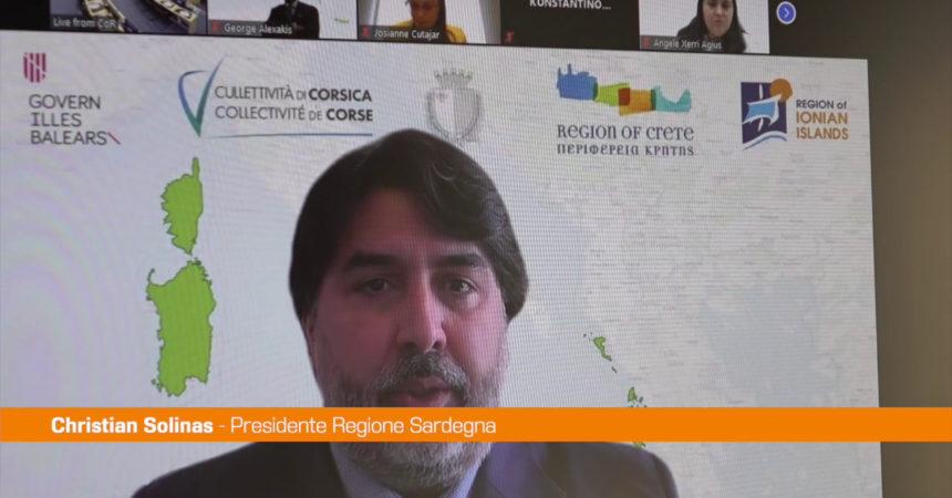 """Ue, Solinas: """"Al lavoro per iniziativa congiunta delle isole"""""""