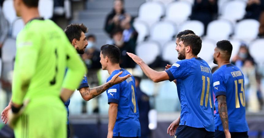 Nations League, l'Italia batte il Belgio 2-1 e chiude terza