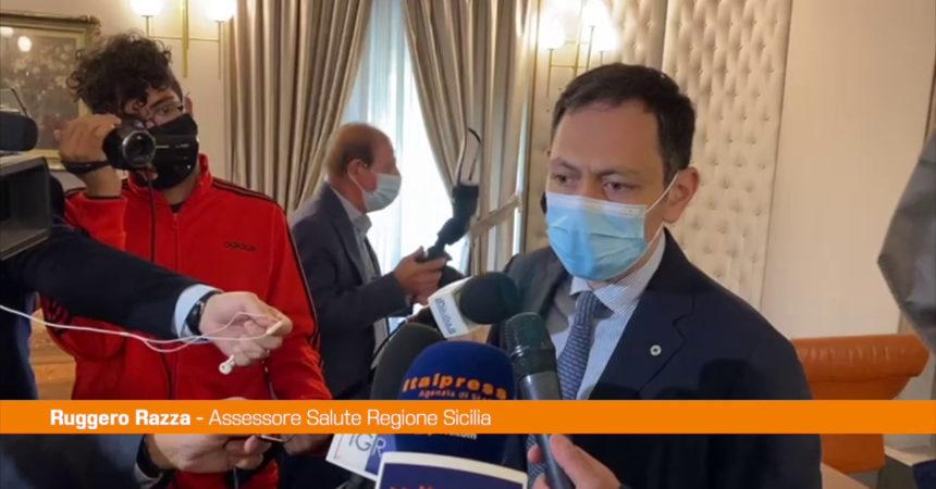 """Covid, Razza: """"La Sicilia torna in zona bianca"""""""