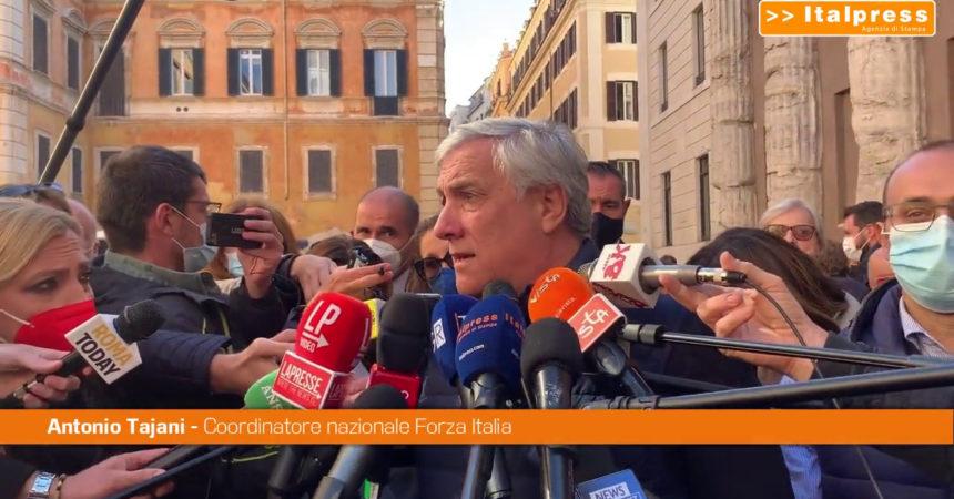 """Tajani """"Condannare la violenza, non strumentalizzarla"""""""