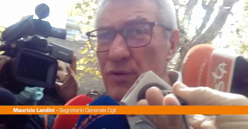 """Landini: """"La visita di Draghi alla Cgil un segnale importante"""""""